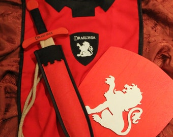 Pack, set medieval Drakoniano