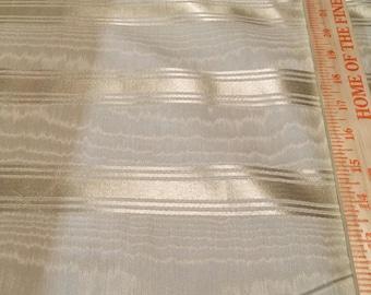 Vintage satin ribbon stripe Moire