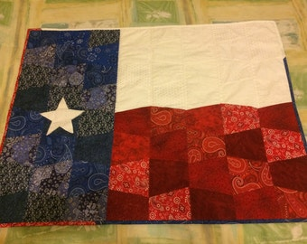 Texas Quilt with no Border has sleeve