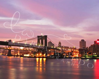 Brooklyn Bridge, NYC, Wall Art, Print