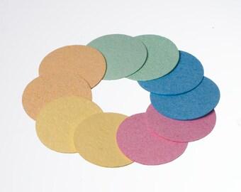 Cellulose Facial Sponges