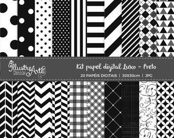 Digital Paper Basic Black