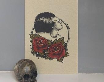 Bride Print