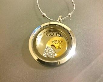 LOVE HOPE Affirmation Necklace