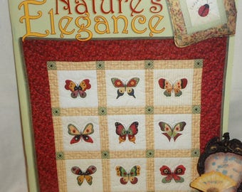 Nature's Elegance Designed by Jan Jornfeind, Country Appliques - Free Shipping