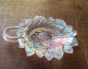 Fenton flower dish