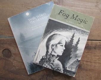 Children's Book Fog Magic Walk When The Moon Is Full
