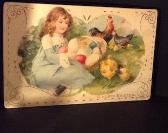 Vintage Easter decorative display by Marta Peters.