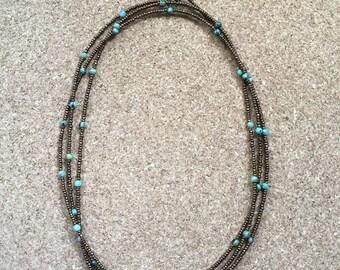 Multi wrap necklace