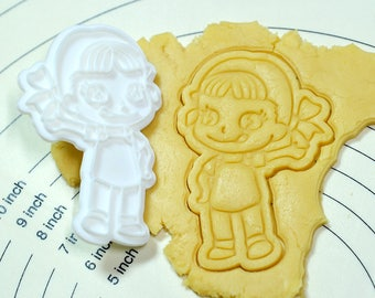 Hello Pecochan Cookie Cutter and Stamp