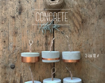Concrete Paper Weights
