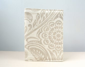 Passport cover, Passport holder, paisley style passport holder, fabric passport holder