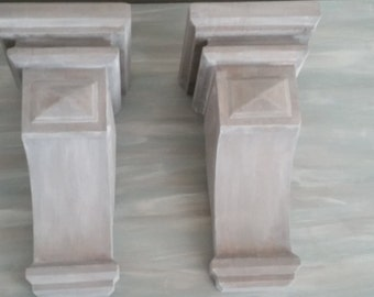 Coastal Cottage Wood Corbels