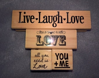 Love Stamps Set