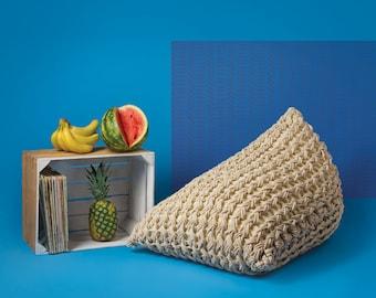pouf ottoman etsy. Black Bedroom Furniture Sets. Home Design Ideas