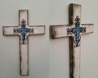 """18"""" Torched Cross"""