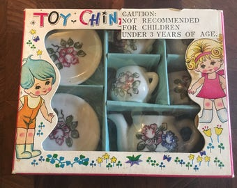 Vintage Toy Tea Set--Made in Japan
