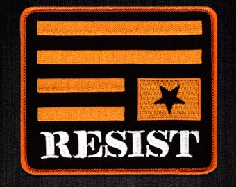 Resist Embroidered Patch - Anti Trump Nasty Woman Persist