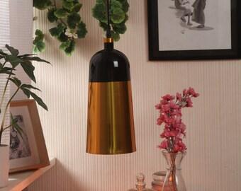 Black Gold Metal Pendant Lamp
