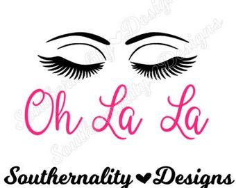SVG Oh La La EyeLashes