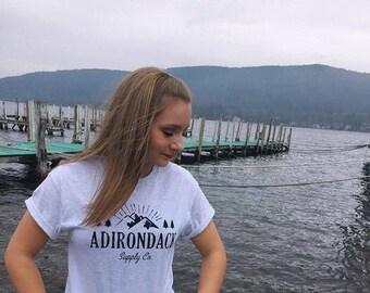 Adirondack Supply Co. Tee (Gray)
