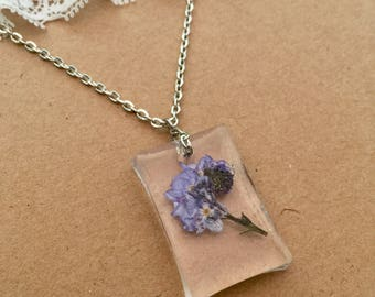 Forget Me Not Pendant, Forget Me Not Necklace, Forget Me Not Jewellery