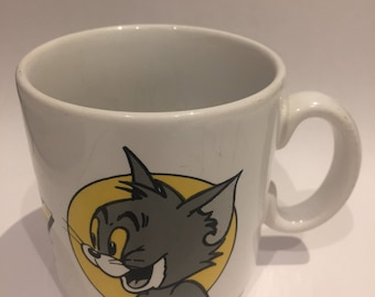 Vintage 1967 Tom and Jerry Mug