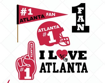 I love the Atlanta svg, falcons dxf, football team svg, jpg, png, eps, ai cutting files, clip art, printable, Silhouette Cameo, Cricut