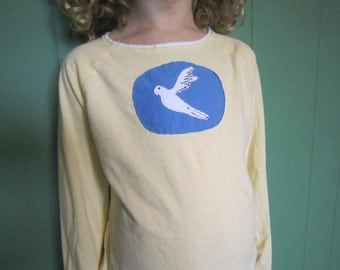 White Dove Long Sleeve Shirt