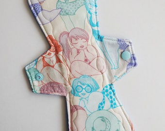 11-inch Moderate Cloth Pad Miss Moon
