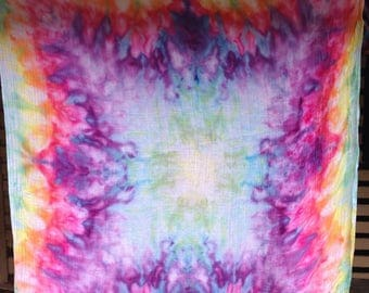 Ice dyed Baby Muslin Wrap