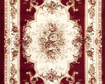 1:12 Victorian Collection Rug for Dollhouses