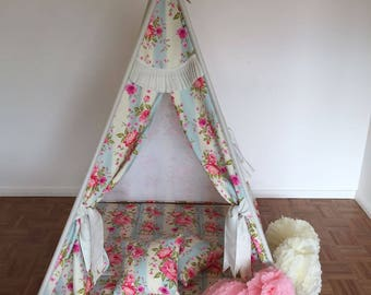 Play tent tipi Goggly vintage complete SET