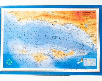 Santa Barbara Channel placemats (set of 4)
