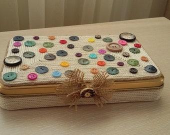 Button Memory Box