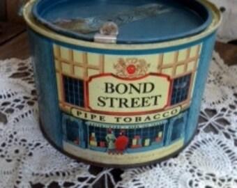 Bond Street Pipe Tobacco Tin