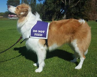DO NOT FEED Dog Vest