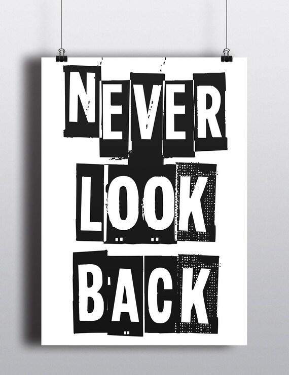 Never Look Back | Digital Download | Fine Art Print