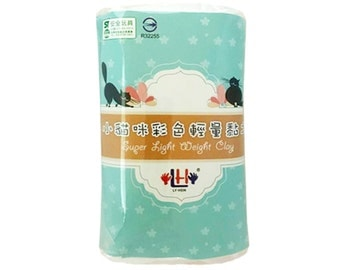 Free Shipping, Light air dry Clay, 200g, 11 Colors, Super light weight modeling clay
