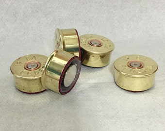 12 Gauge - Refrigerator Magnet - Once Fired Brass