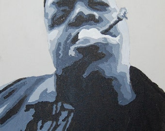 Notorious BIG Painting