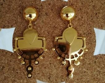 Long earrings tribal en.gota