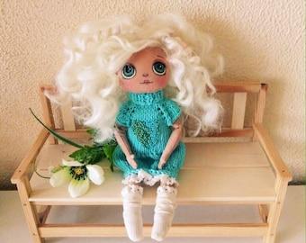 Textile doll, Doll handmade ,Interior doll,Gift, Nursery doll, OOAK, Art dolls
