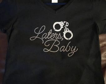 Laters Baby Bling Tshirt