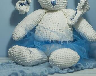 Decorative rabbit recycled