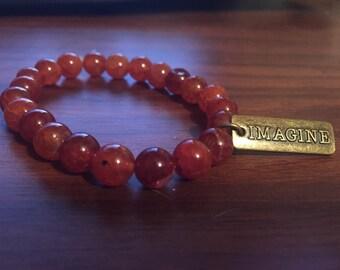 """Handmade """"Imagine"""" Bracelet"""
