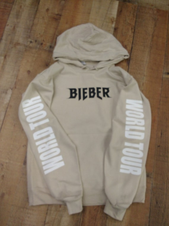 items similar to justin bieber purpose tour hoodie world. Black Bedroom Furniture Sets. Home Design Ideas