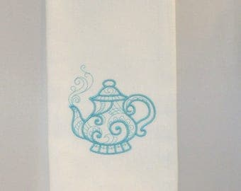 Teapot Tea Towel - Free Shipping