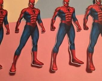 """5"""" Spiderman Inspired Die Cut"""