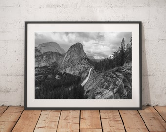 Yosemite National Park, California, Nature, Black And White, Wall Art, Prints, Nature Landscape Photography